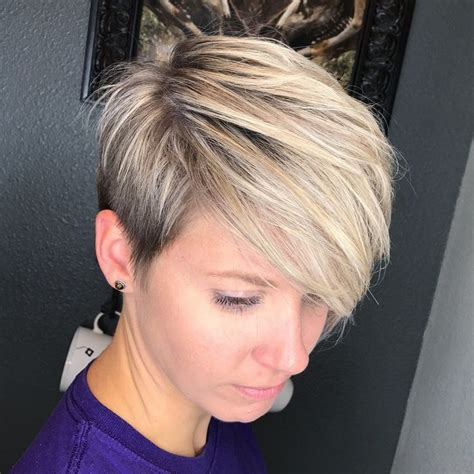 Shag Hair Style Dimental Color | 70 short shaggy spiky edgy pixie cuts and hairstyles