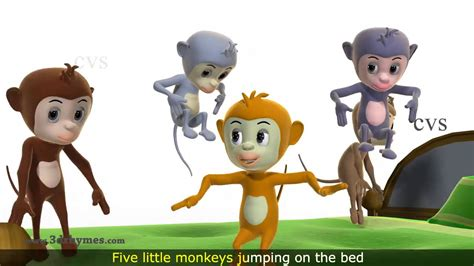 little monkey jumping on the bed maxresdefault jpg