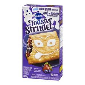 How Much Do Toaster Strudels Cost Pillsbury Toaster Strudel Wildberry Pastries Walmart Ca