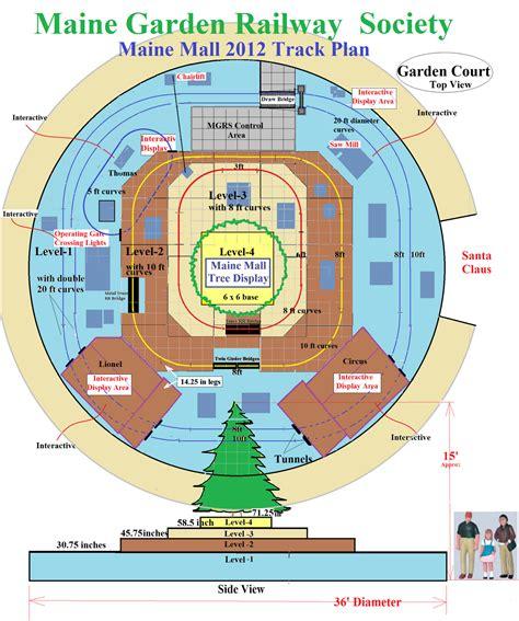 layout of maine mall maine garden railway society member blog 2012 mall layout