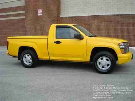 how cars run 2006 chevrolet colorado engine control purchase used 2006 chevy colorado 5 speed manual 4 cylinder gas saver yellow alloys a c cruise