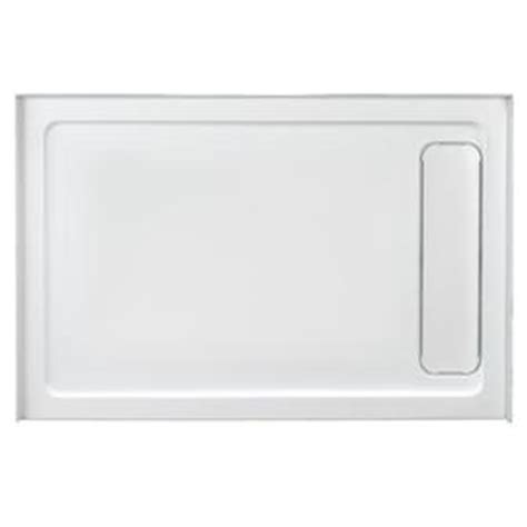 Ove Shower Base by Shop Ove Decors White Acrylic Shower Base Common 36 In W X 48 In L Actual 36 In W X 48 In L