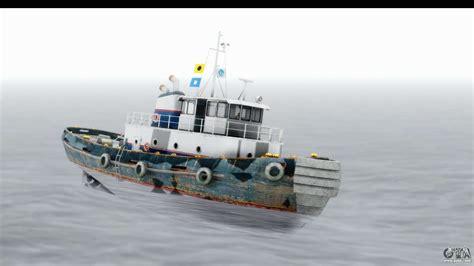 types of boats in gta 5 gta 5 buckingham tug boat v2 ivf for gta san andreas