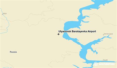 maps russia ulyanovsk ulyanovsk baratayevka airport ulv worldatlas