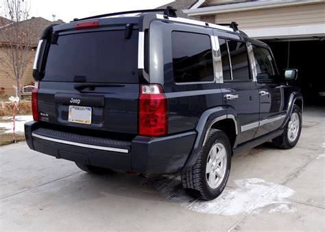 Jeep Commander Aftermarket Jeep Commander Generations Technical Specifications And