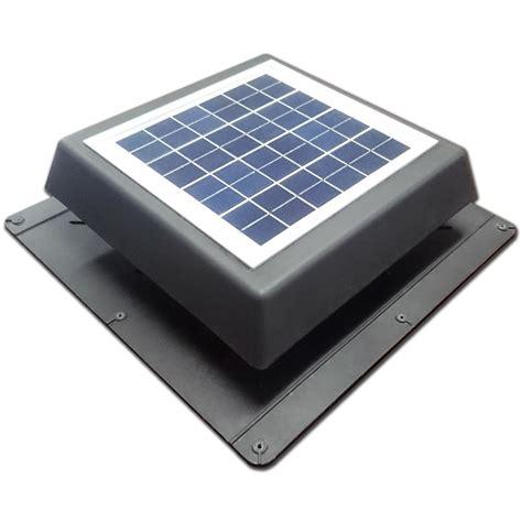 Bathroom Sinks Bunnings Acol 200mm Black Ezylite Solar Roof Vent Fan Ebay
