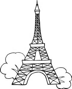 eiffel tower coloring sheets eiffel tower coloring page gianfreda 28998