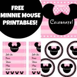 free printable minnie mouse baby shower invitations car