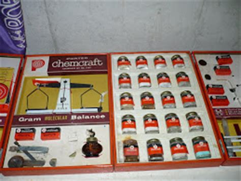 Citizen Of Science Old Chemistry Sets