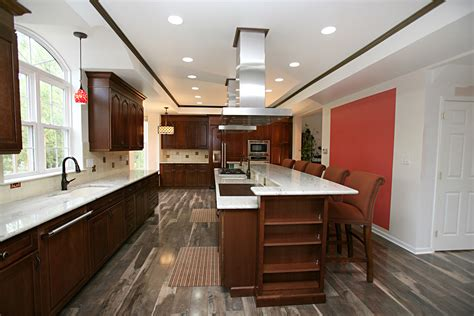 cherry kitchen cabinets kitchens with grey floors kitchen j neville construction inc the premiere choice for
