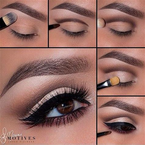 natural makeup tutorial step by step 12 easy step by step natural eye make up tutorials for