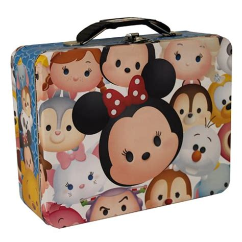 Lunch Box Tsum Tsum disney tsum tsum tin lunch box tin box company disney