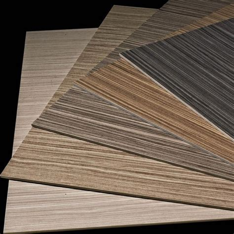 Ultra Thin Porcelain Tile Wood Look Line Pattern Slim Tile