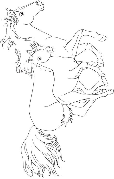 coloring pages of beautiful horses 33 best horse coloring pages images on pinterest