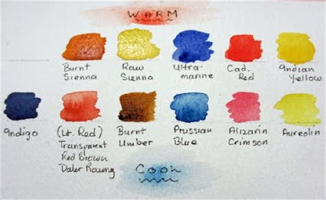 cool colors list watercolours by polly birchall warm cool colours