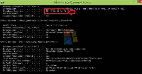 Search Mac Address On How To Find Mac Address In Windows 10 Technical Preview