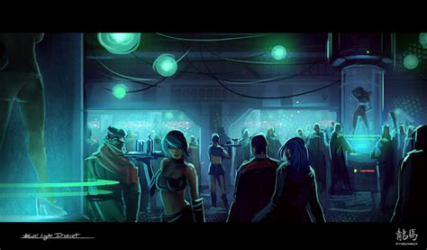 blue light district by ryomaninja on deviantart