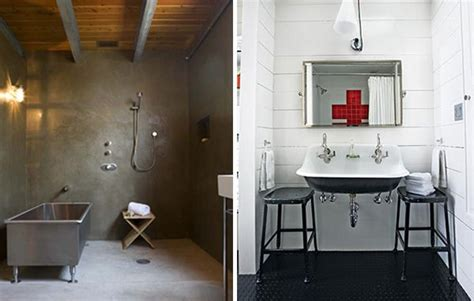 industrial bathroom bath industrial