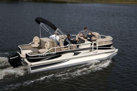 crestliner pontoon boat models research crestliner boats grand cayman 2185 on iboats