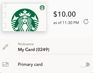 Starbucks Gift Card Balance Number - transfer starbucks gift card balance onto my main card ask dave taylor