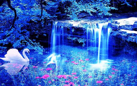 desk top pictures water fall wallpapers wallpaper cave