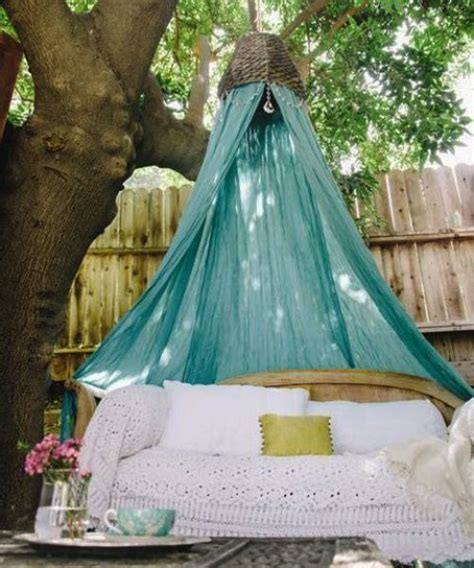 home fabrics for outdoor decor beautiful summer 33 romantic outdoor canopies and tents made with mosquito