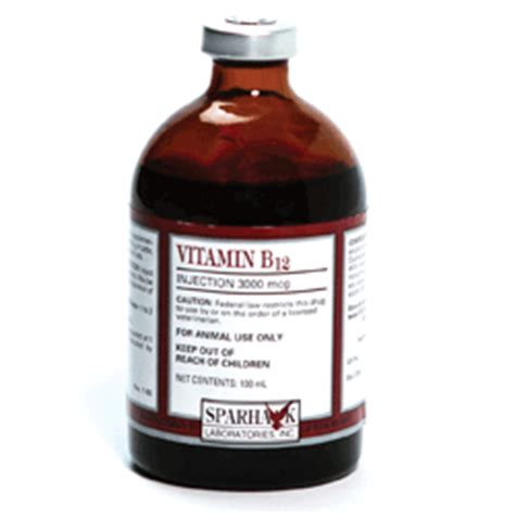 vitamin b12 for dogs rood and riddle veterinary pharmacy