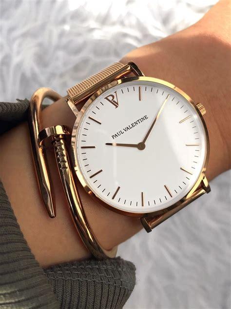 Michael Kors Uhren Rosegold 501 by Marina Gold Mesh Lieblings Frauen Uhren