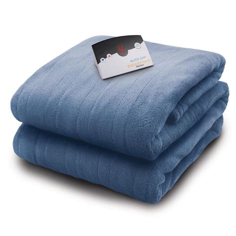 biddeford blankets 2030 series micro plush heated 62 in x