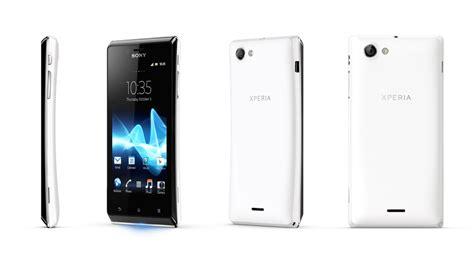 Hp Sony Android Xperia J test du sony xperia j st26i