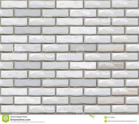 adobe illustrator brick pattern vector seamless brick wall made of white bricks stock