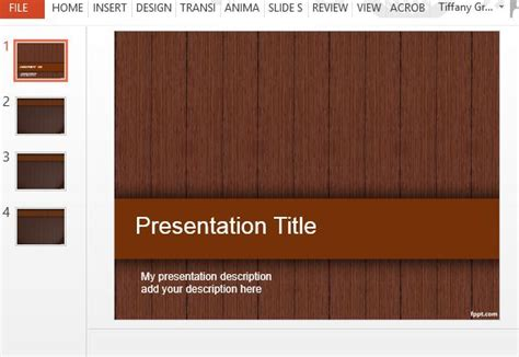templates for powerpoint wood wood design powerpoint templates