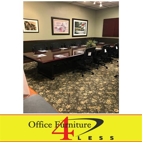 office furniture 4 less used ct2 18 conference table 18ft office furniture 4 lessoffice furniture 4 less