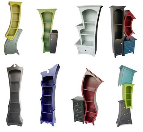 Burton Furniture by Tim Burton Shelf Looks Like They Come From A Tim