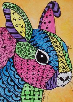 doodle creatures how to create rabbit 1000 images about zentangle birds animals on