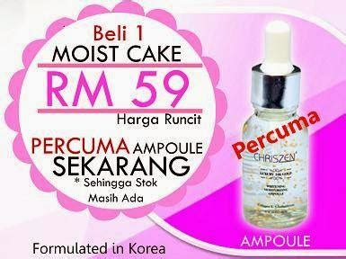 Harga Foundation Make No 2 unq store chriszen moist cake bedak hebat 1st di