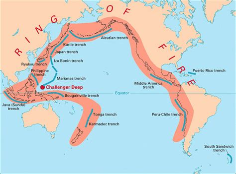 ring of fire mp what is a subduction zone
