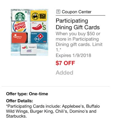 Just Fab Cards And Gifts Promo Code - 50 starbucks and restaurant gift cards for just 43 with new coupon super safeway