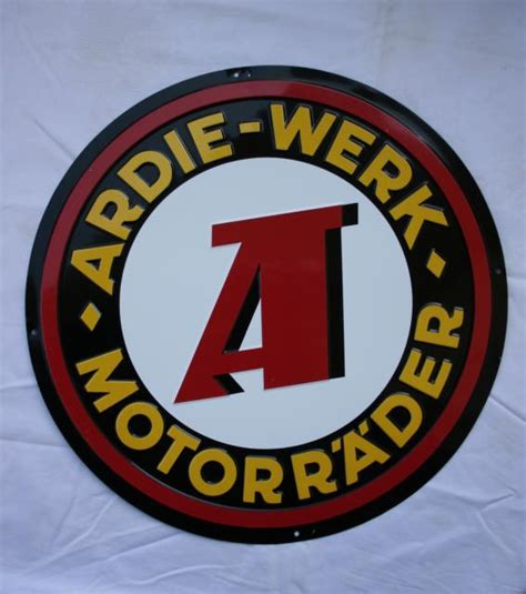Alte Motorrad Blechschilder by Ardie Motorr 228 Der Blechschild Alt Oder Replika