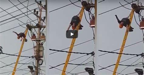 Detik Pln | video detik detik petugas pln kejang kejang tersetrum