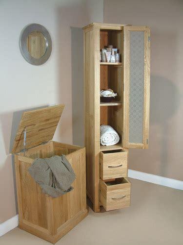 oak tallboy bathroom mobel oak tall glazed bathroom cabinet