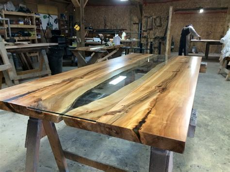 live edge wood table live edge harvest tables tree green team collingwood ontario