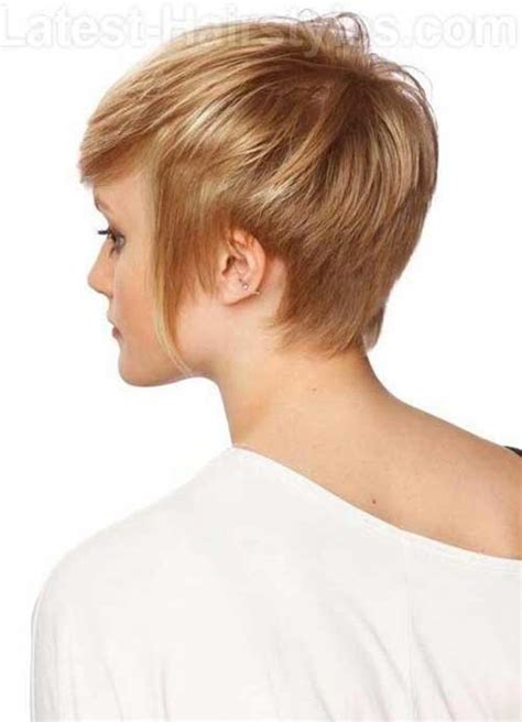 side and front view short pixie haircuts pixie haircut back view the best short hairstyles for