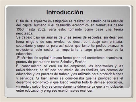 el libro la lectura y el progreso capital humano y crecimiento econ 243 mico en venezuela