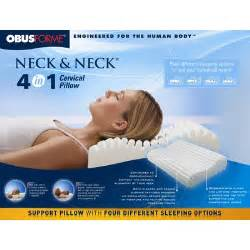 neck and neck 4 in 1 cervical pillow wayfair