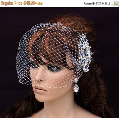 Wedding Hair Birdcage Veil by Birdcage Veil And Comb Bird Cage Veil Bridal