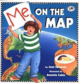 on me books me on the map dragonfly books joan sweeney