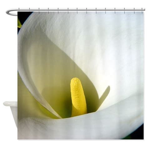 calla lily shower curtain classic calla lily shower curtain by winecountrygift