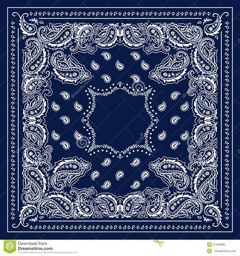blue bandana stock illustration image 51343809