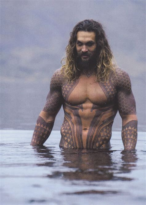 aquaman jason momoa back tattoo pictures to pin on